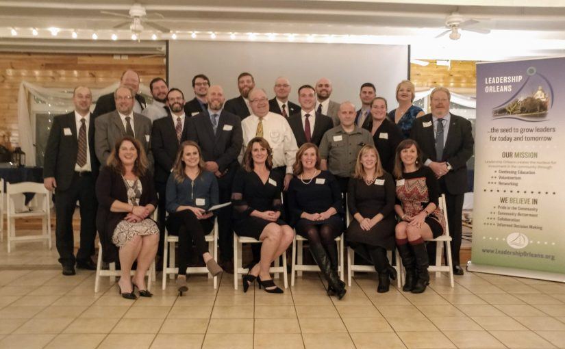 The Inaugural Leadership Orleans Class, 2018
